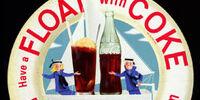 Coke® Peach Float