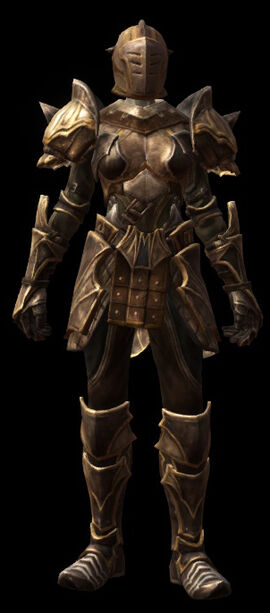 Vengeance armor set female