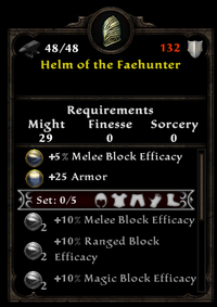 Helm of the faehunter