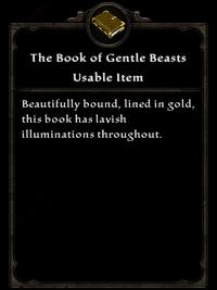 The Book of Gentle Beasts Item