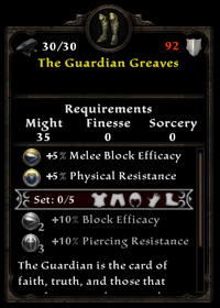 The guardian greaves