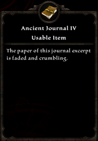 Ancient journal IV