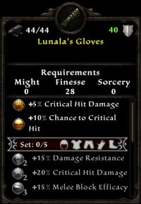 Lunala's Gloves