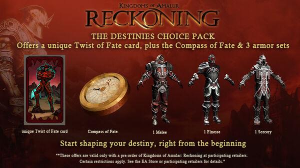 Destines choice DLC