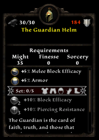 The guardian helm