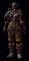 Unique Might Armor Fem LoDK