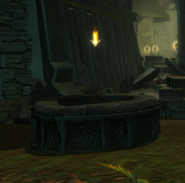 Resting the bones urn