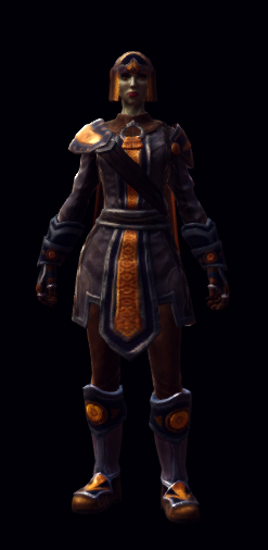 The valley armor set female