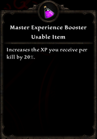 Master-experience-booster