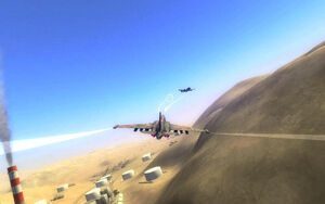 RC2 jet chase