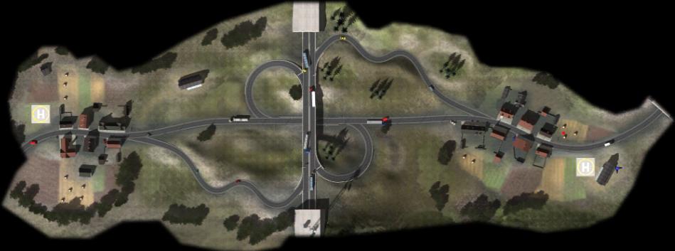 A7 Autobahn map