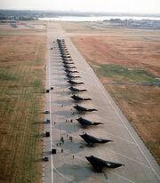 USAF F-117 Stealth Nighthawks