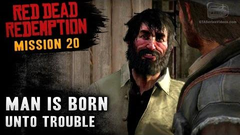Red Dead Redemption - Mission 20 - Man is Born Unto Trouble (Xbox One)