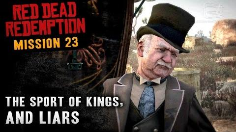 Red Dead Redemption - Mission 23 - The Sport of Kings, and Liars (Xbox One)