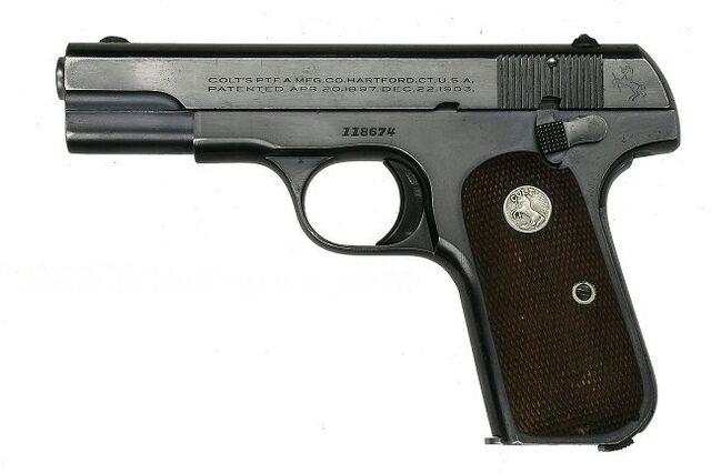 File:Colt Model 1908 Pocket Hamerless AdamsGuns 1783.jpg