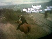 Riding into Diez Coronas