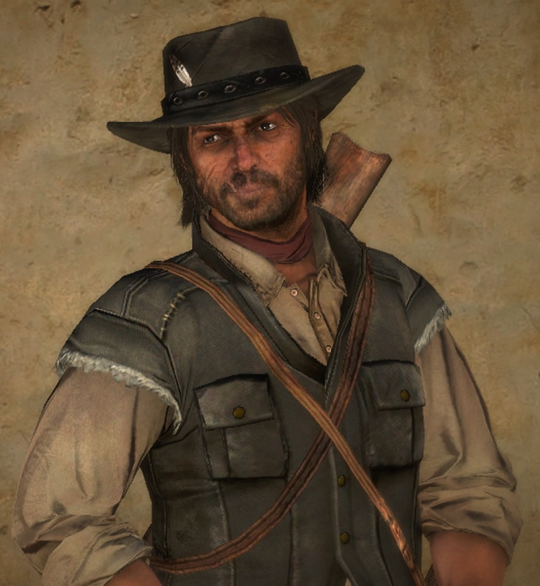 John Marston Red Dead Wiki FANDOM Powered By Wikia - Red dead redemption us marshal outfit map