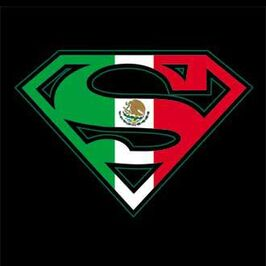 Mexican Super man sign