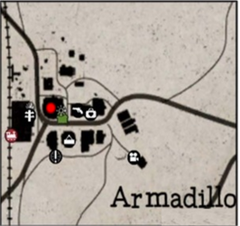 Map Of Armadillo