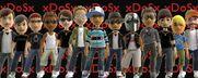 XDoSx clan avatars june 2010