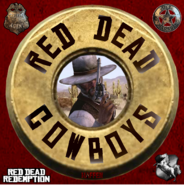 RED DEAD Cowboys logo 2