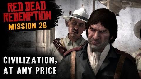 Red Dead Redemption - Mission 26 - Civilization, at Any Price (Xbox One)