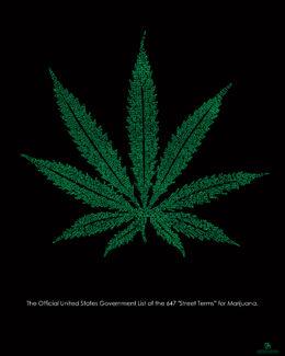 Posters Marijuana Leaf - Poster
