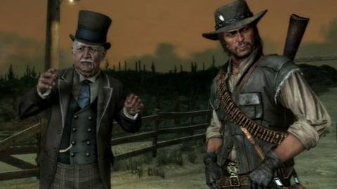"Red Dead Redemption - mission ""You Shall Not Give False Testimony, Except for Profit"""