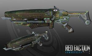 Singularity-gun