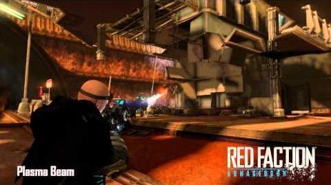 Red Faction Armory Plasma Beam