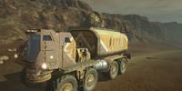 Civilian Flatbed Truck