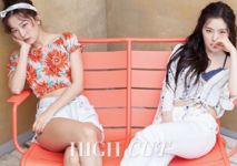 Irene and Seulgi for High Cut Magazine 2