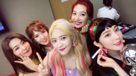 Red Velvet backstage M Countdown 2nd Win