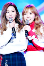 Seulgi and Wendy on stage 2