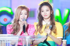 Seulgi and Irene on stage 2