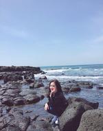 Irene by some rocks Instagram Update