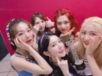 Red Velvet backstage music core Red Flavor 4th win