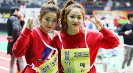 Seulgi and Yeri at Idol Star 2