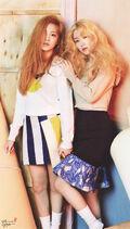 Irene and Yeri The Celebrity Magazine Issue May 2015