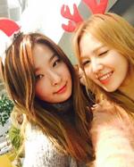 Seulgi and Wendy on Christmas 2
