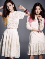 Seulgi and Irene for Harpers Bazaar Magazine 2