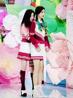 Irene and Joy hugging