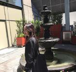 Irene by a waterfall 2
