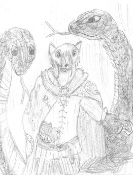 Captain Dankfur Clawhook and his Blacksnakes