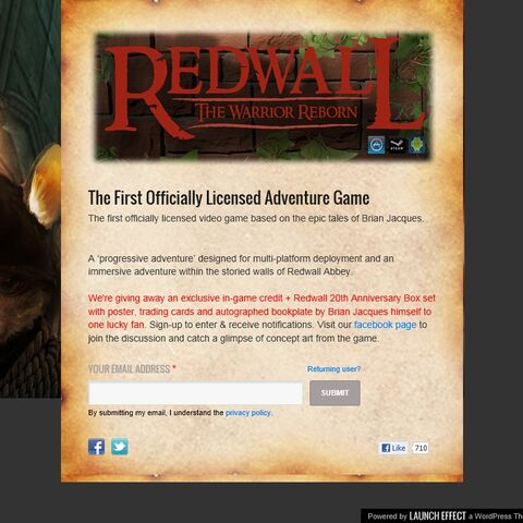 Current Redwall Game