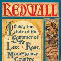 US Redwall Original Paperback