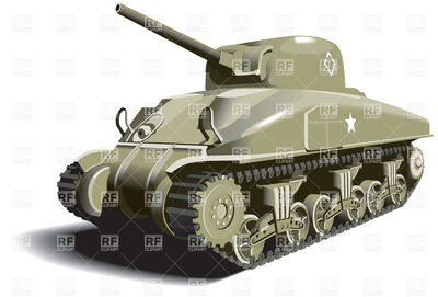 American-tank-world-war-ii-times-Download-Royalty-free-Vector-File-EPS-12119