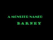 Monster barney