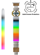 Spectrum lightsaber by jedimsieer