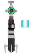 Health regenerator lightsaber by jedimsieer